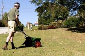 Lawn Fertilizer Calculations