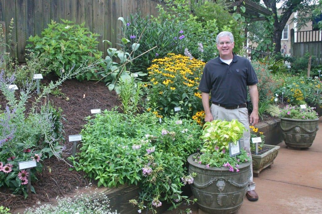 Dr John Ruter, UGA Horticulturist