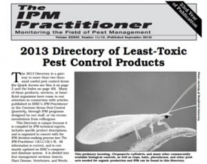 Least toxic pest control products
