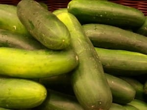 No summer salad is complete without a crisp, fresh cucumber!